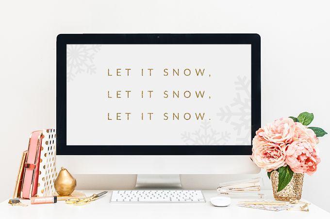 Free Desktop Wallpaper for December  www.brandmebeautiful.co.uk  #desktopwallpaper #winter #design
