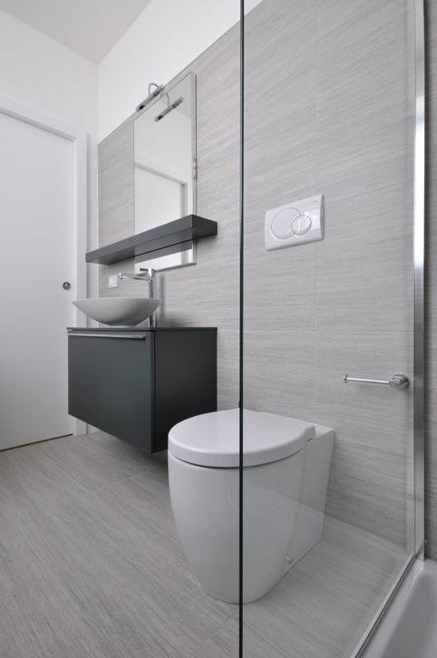 7 best progetto ristrutturazione e arredamento images on - Gres porcellanato bagno moderno ...