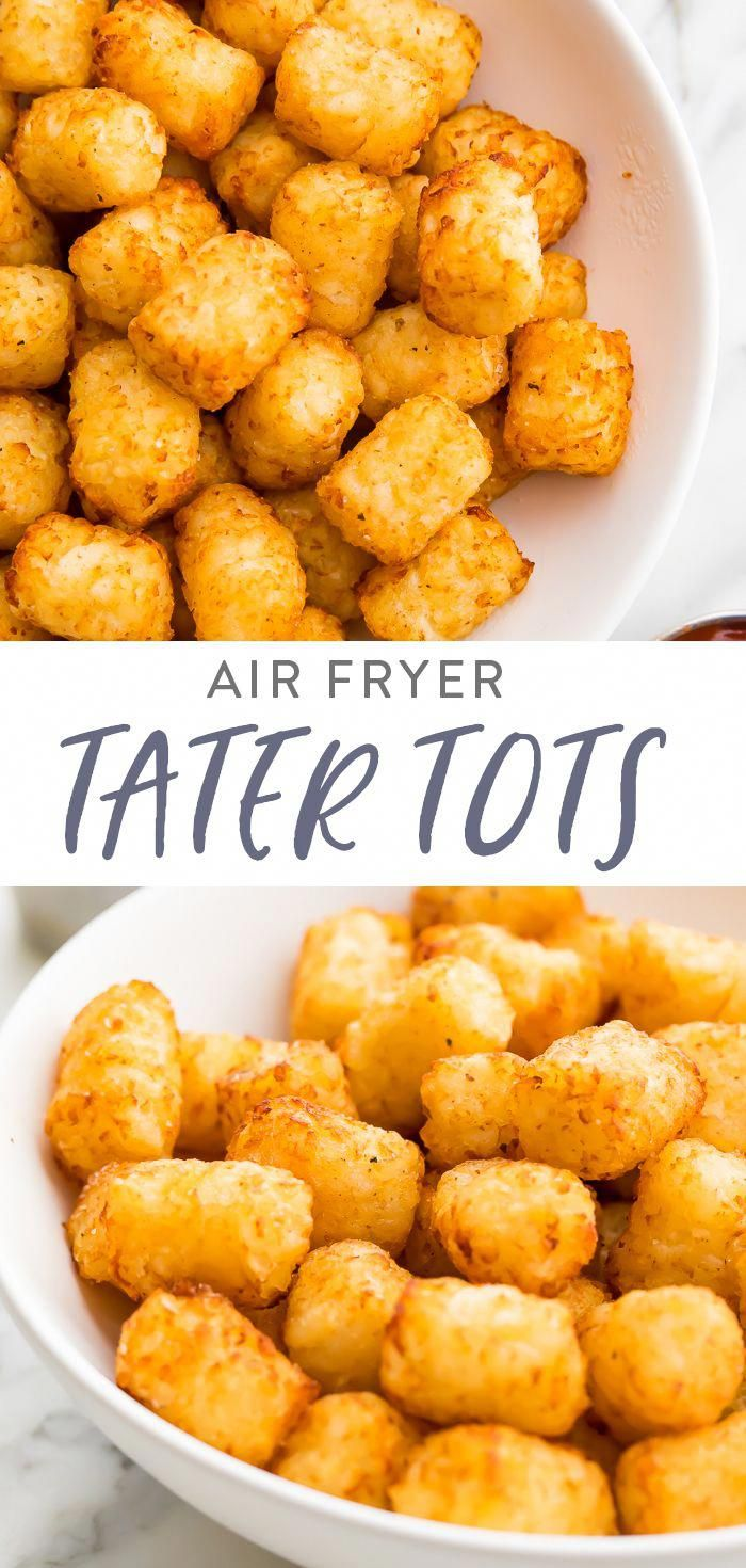 Air Fryer Tater Tots Recipe in 2020 Air fryer recipes