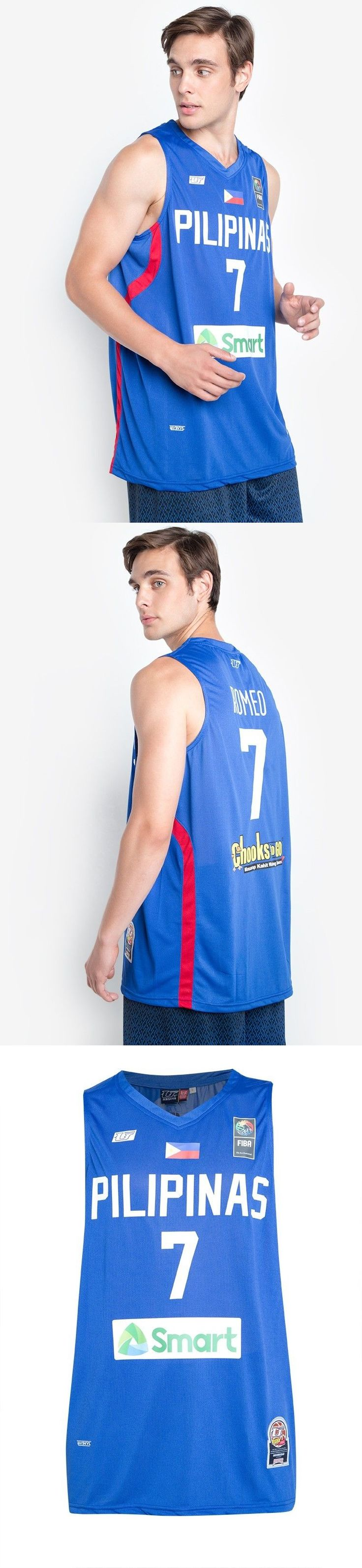 Basketball-Other 205: Terrence Romeo Gilas Pilipinas Seaba Jersey #7 Philippines Basketball Pacquiao -> BUY IT NOW ONLY: $38.88 on eBay!