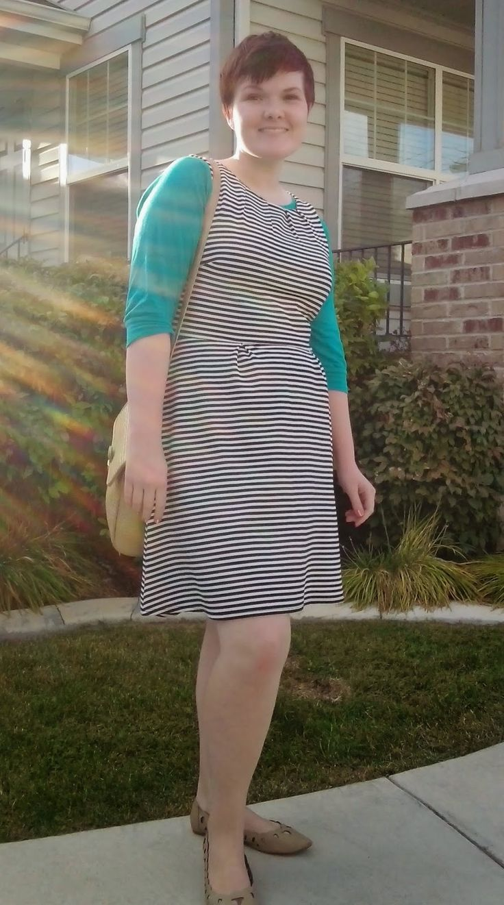 Clearance Finds: Striped Dress