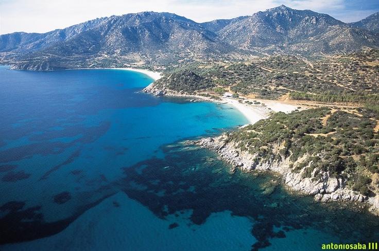 Villasimius bay, Sardinia