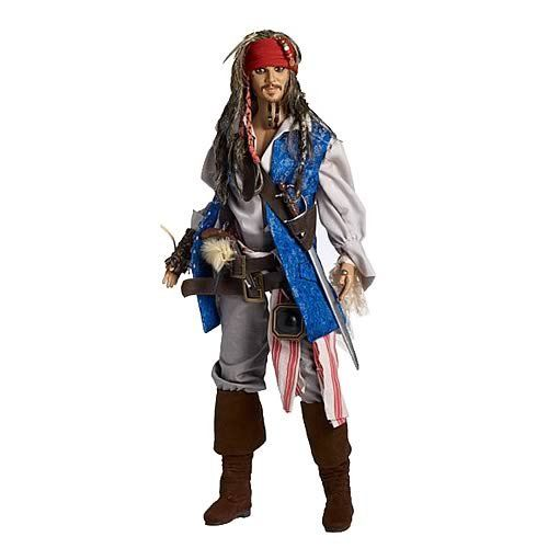 Pirates of the Caribbean Jack Sparrow Tonner Doll