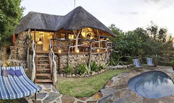Romance at Africa's heart: A hideaway for two with safari charm.