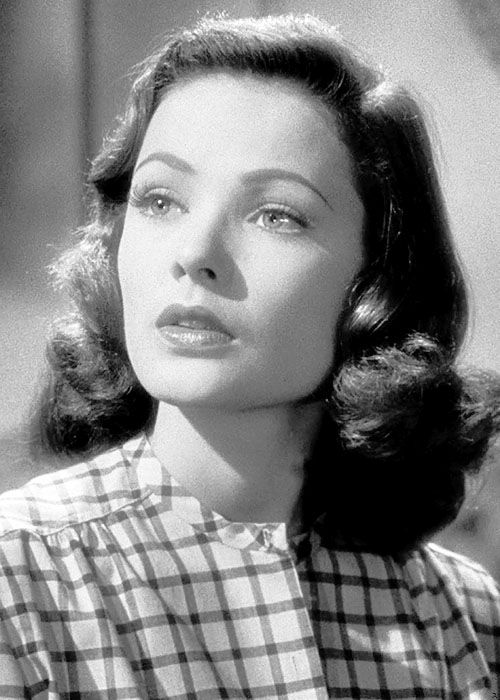 Gene Tierney - one of the most beautiful faces I've ever seen