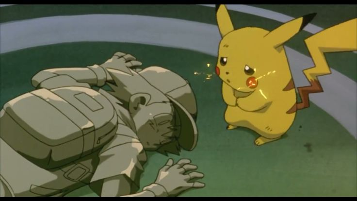 The saddest moment in the first pokemon movie this part always makes me cry 😢