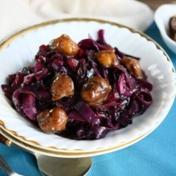 Red Wine braised Cabbage by angiesrecipes