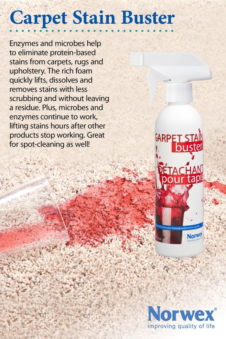 Simple and effective method of eliminating protein-based stains and odours instantly. A complete carpet cleaning solution used for shampooing, spot cleaning, deodorizing, and neutralizing. This revolutionary new technology is effective for eliminating protein-based stains and odours. Rapidly penetrates to dissolve and remove all types of stains. Keeps working hours after cleaning, and will not leave residues that can attract new contaminants.