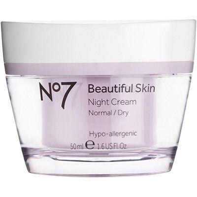 BootsNo 7 Beautiful Skin Night Cream Normal/Dry Skin