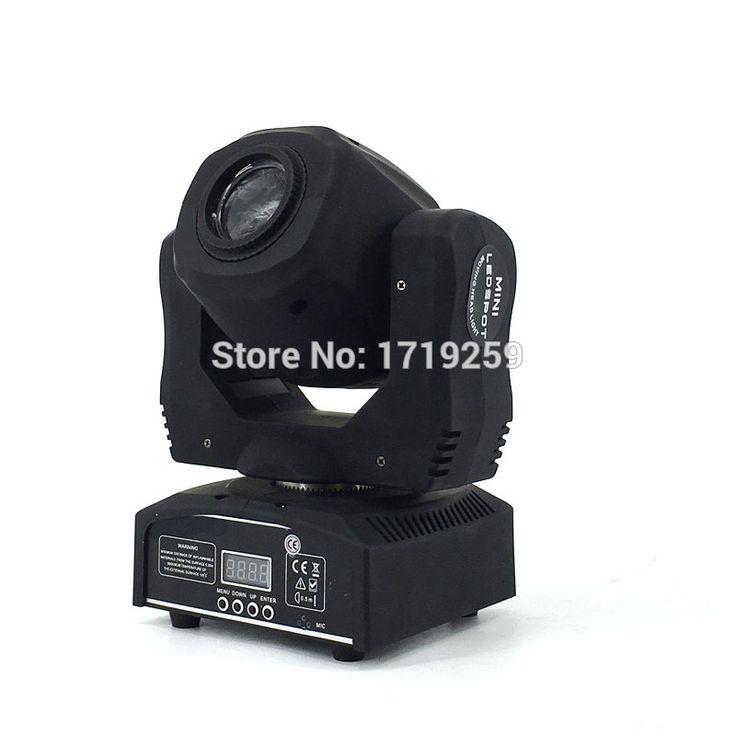 Mini spot 60 w led bergerak ringan kepala dengan gobos piring & piring warna, kecerahan tinggi 60 w mini led bergerak kepala cahaya dmx512