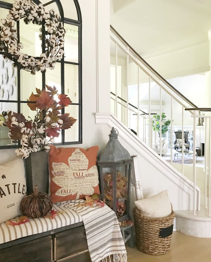 Decorate for fall like a pro with designer tips the design twins share best advice for seasonal decorating tons of inspiration in their fall home tour