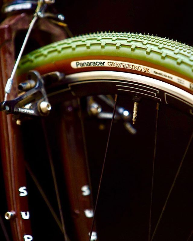 Hmmm That New Panaracer World Gravel King Military Green Tire Is