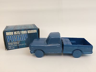 Vintage Avon Ford Ranger Truck Decanter 1973 Wild Country in Box Decals Full