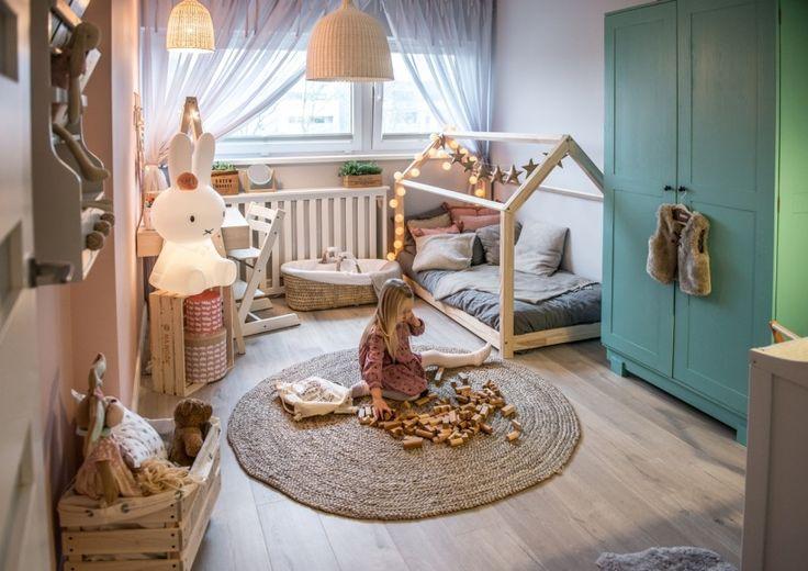 Aranżacja przytulnego pokoiku dla dziewczynek - Lovingit.pl