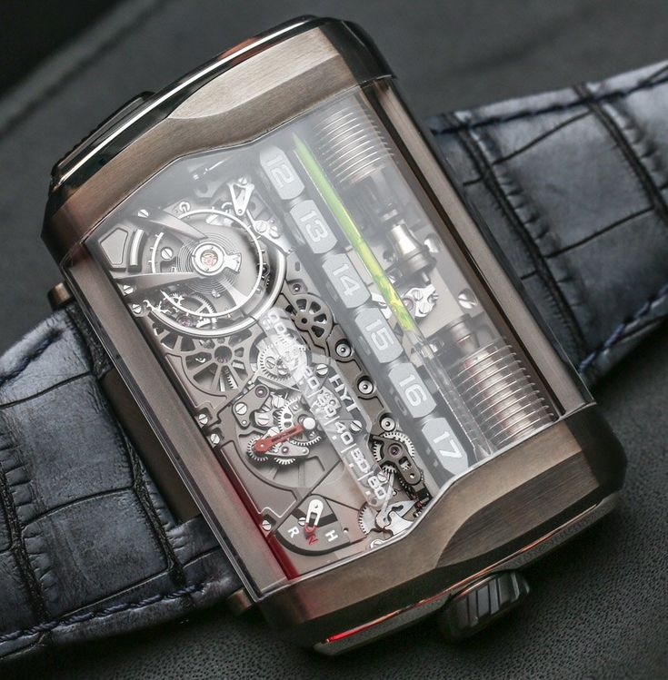 """HYT H3 Hands-On: A Best-Of-2015 Watch - by Ariel Adams - see more hands-on pictures & why we like it - on aBlogtoWatch.com """"Now that 2015 is about over, I have been asked on a number of occasions 'what were your favorite watches of the year?' That is a good question - especially for someone who categorically refuses to choose favorites. With that said, a fair number of watches from the last 12 months have certainly left big impressions on me, such as the HYT H3..."""""""