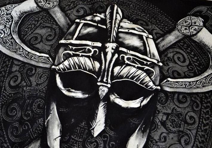 Motyw fighterski na koszulce 'Viking - Warrior' HD ---> Streetwear shop: odzież uliczna, kibicowska i patriotyczna / Przepnij Pina!