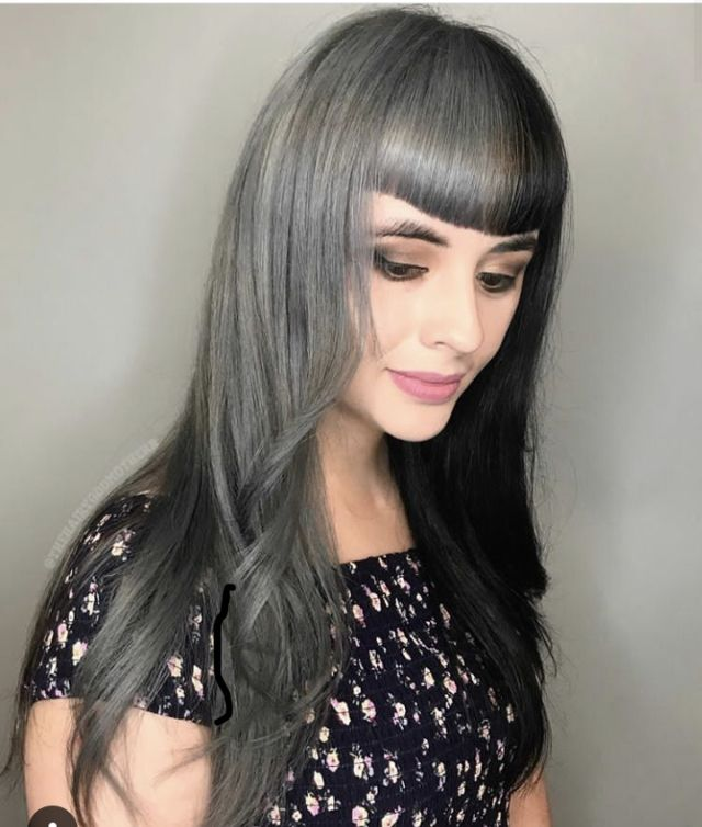 Pin by David Connelly on Half & Half Dyed Hair 09   Hair ...