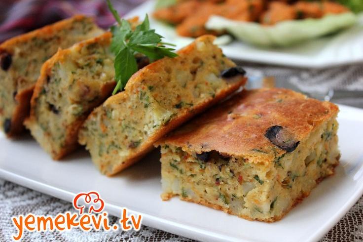 Patatesli Peynirli Tuzlu Kek, www.yemekevi.tv, www.facebook.com/YemekeviTV, www.twitter.com/yemekevitv, www.youtube.com/user/fvayni