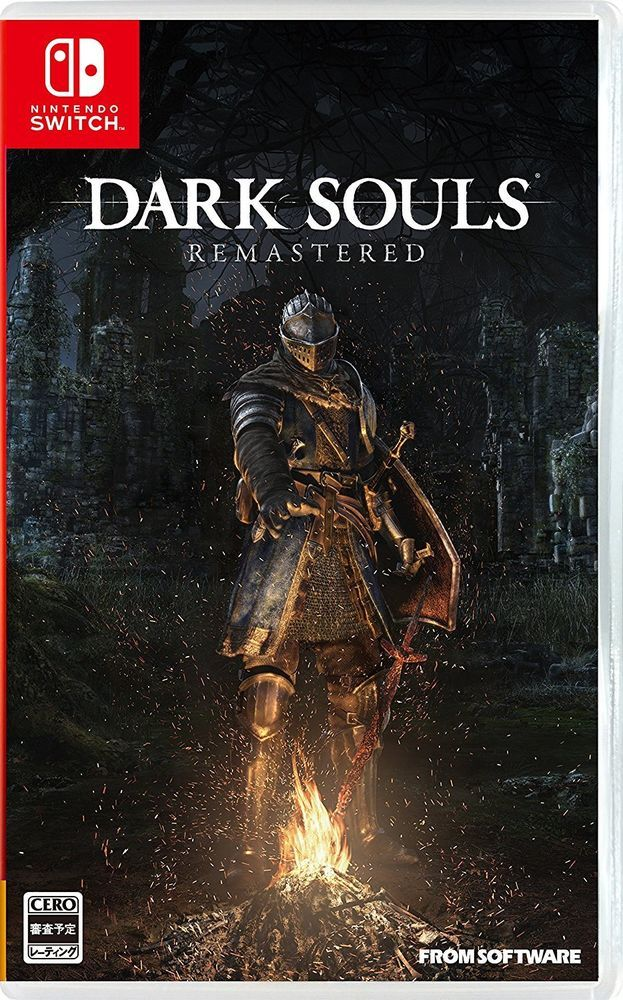 Nintendo Switch Dark Souls Remastered Japan Import Digital Code