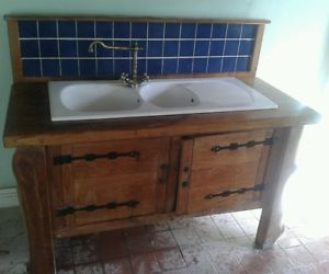 Solid-wood-oak-freestanding-country-cottage-kitchen-sink-unit