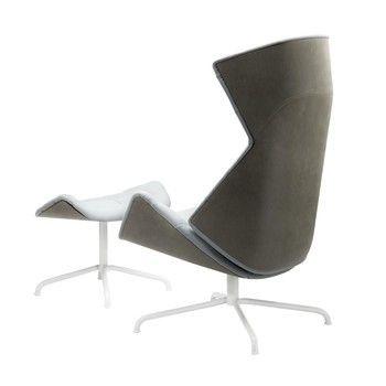 Unique Thonet Lounge Sessel Under blaugrau gr n Stahlrohrgestell graugr n lackiert