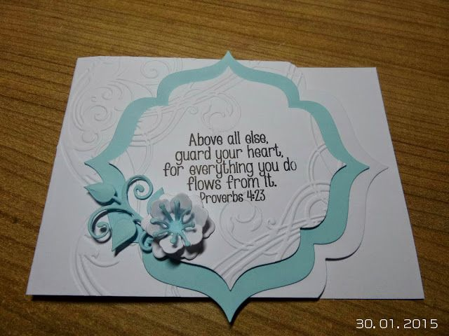 BellesCreations.gr: Above all else, guard your heart....