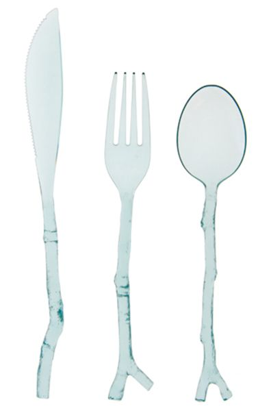 the prettiest disposable cutlery. hands down.