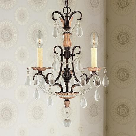 Mini Chandeliers   Luxe Looks For The Bedroom, Bathrooms, Closet And More |  Lamps