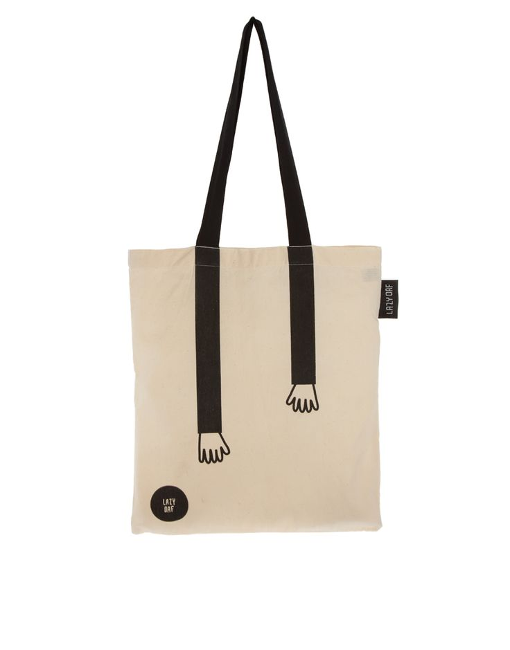 this cute tote eco bag to nip to corner shop and get office groceries