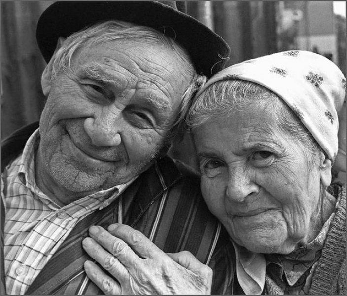 love = growing old together