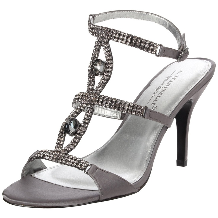 pewter shoes - $99