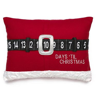 Move Santa\u0027s belt around and the days till Christmas will be displayed in. Christmas MakesIdeas ...