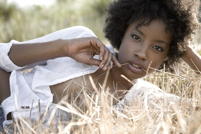 Elite Model Erika Raley Natural Hair Pictures #NaturalHair