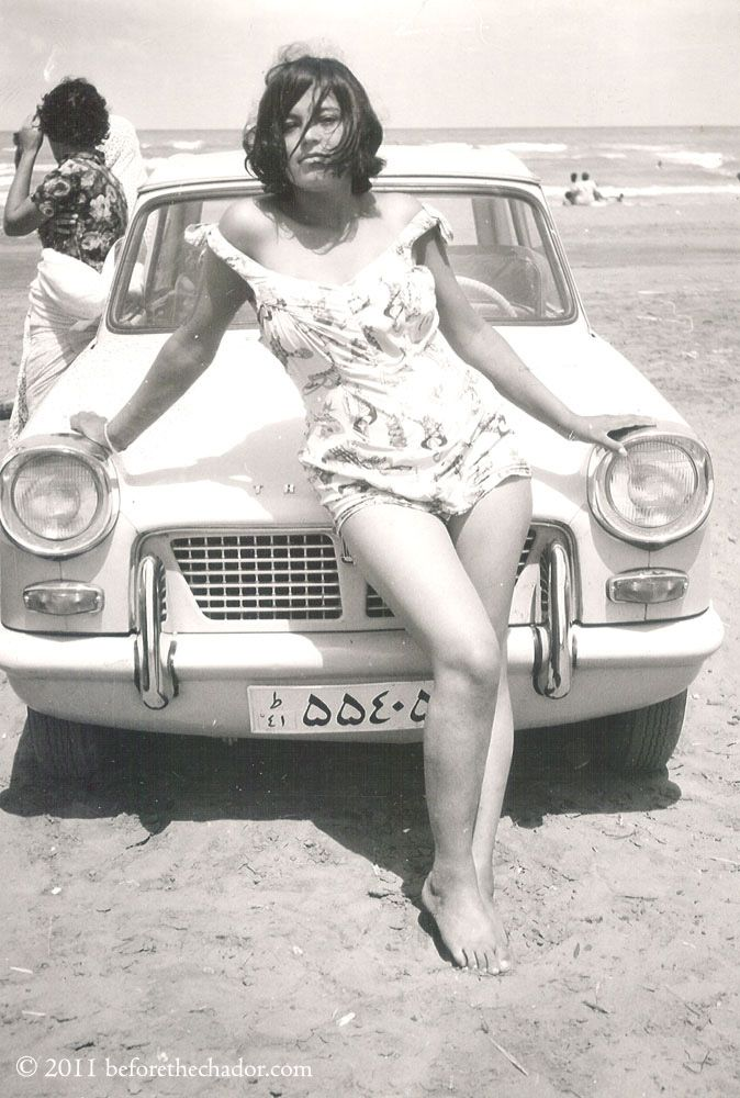 This pic of an Iranian woman at the beach in the 1970s is heart-breaking.