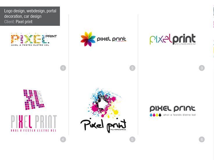 logo concepts, colorful logos