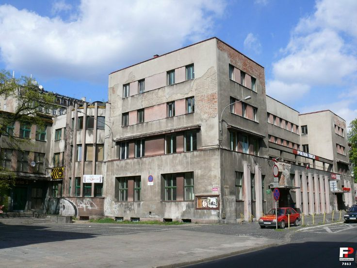 Young Men's Christian Association Poland YMCA in Lodz at 4a Miniuszki Street, Community Centre, 1932-35, project by Wiesław Lisowski