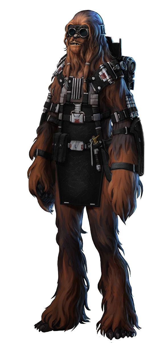 Star Wars Wookie engineer