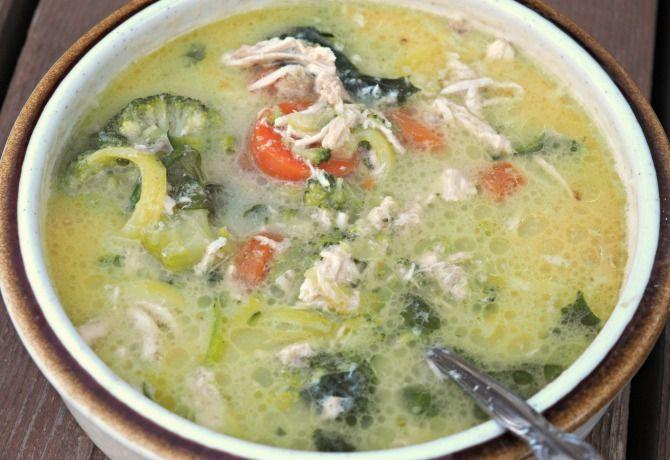 Creamy Chicken Soup (Dairy-Free, GAPS Intro, AIP) | How We Flourish