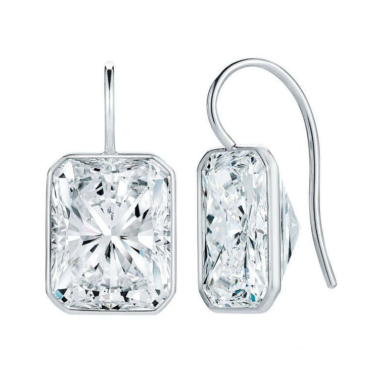 12.19 Carat Diamond Earrings   From a unique collection of vintage drop earrings at http://www.1stdibs.com/jewelry/earrings/drop-earrings/