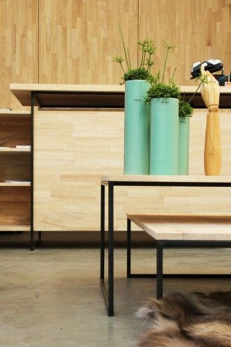 Kordekor | Innoverende interieurs |  #interior #design #wood #scandinavian #store #bruges #furniture #custommade #architecture  Boetiek Ruth, Brugge