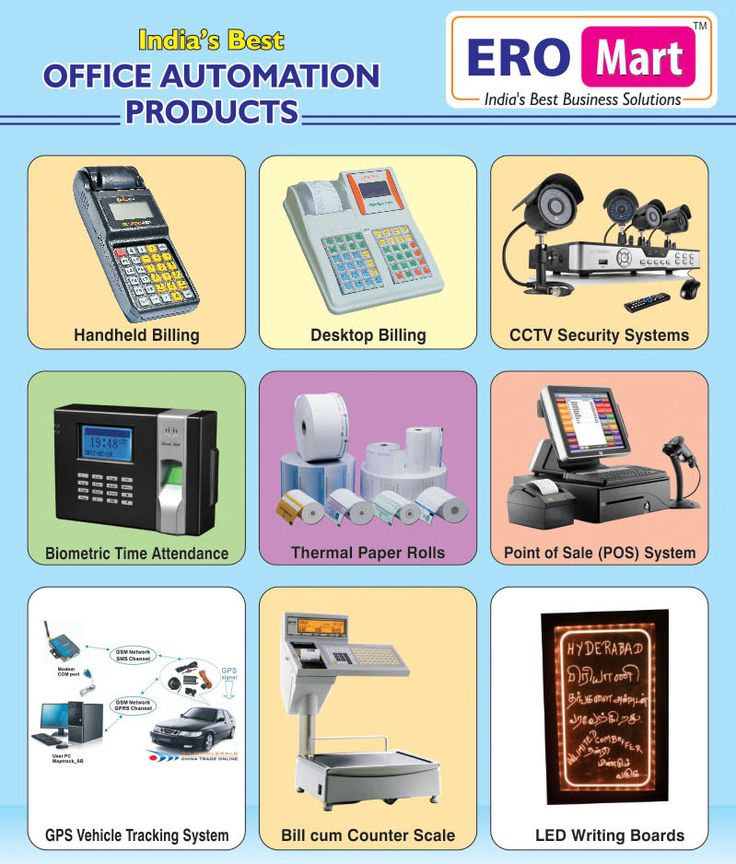 ERO Mart also Topmost Suppliers of Office Automation Products like Handheld Billing Machines, Desktop Billing Machines, CCTV Security Systems, Biometric Time Attendance, Thermal Paper Rolls, Point of Sale (POS) Systems, GPS Vehicle Tracking Systems, Bill Cum Counter Weighing Scales, Digital Weighing Scales, LED Writing Boards. All our Cash Counting Machines, Billing Solutions and Office Automation Products are available with Excellent Quality and Best Price Offers.