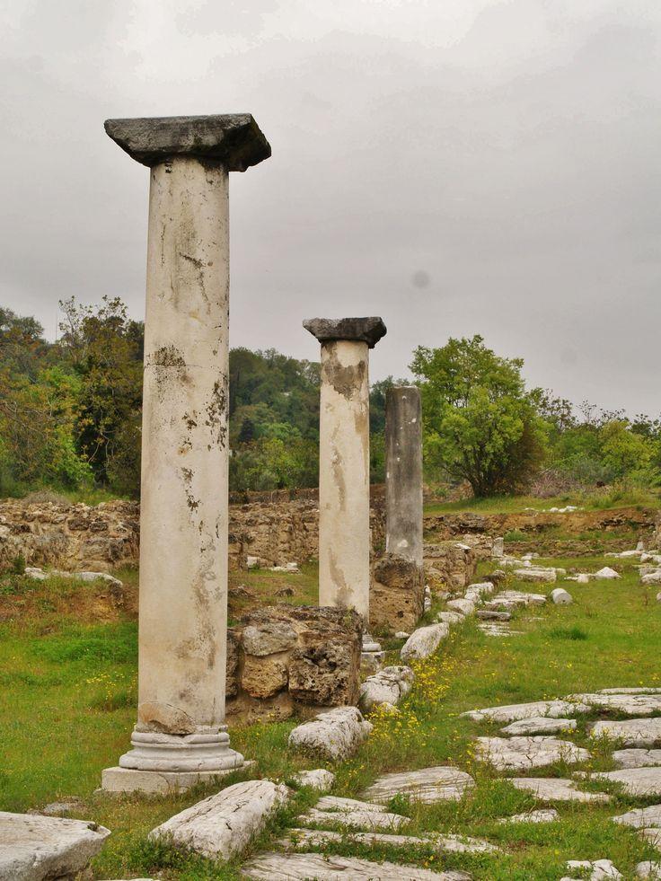 Αρχαία ΄Εδεσσα, Ημαθία.