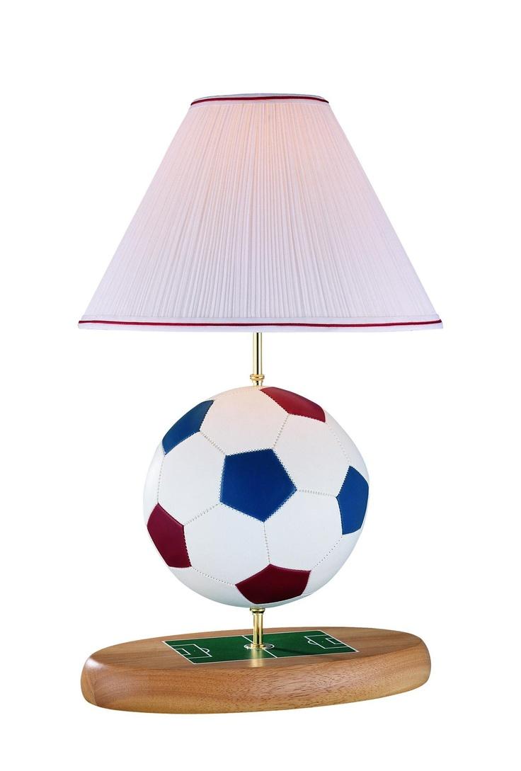 Soccer ornaments - Soccer Ball Lamp