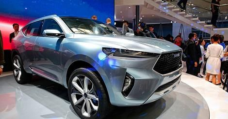 Haval HB-02, HR-02 SUV concepts preview future styling | CarAdvice Chinese SUV brand Haval has unveiled a pair of new concepts, intended to preview the company's future styling direction. The show cars, dubbed HB-02 and HR-