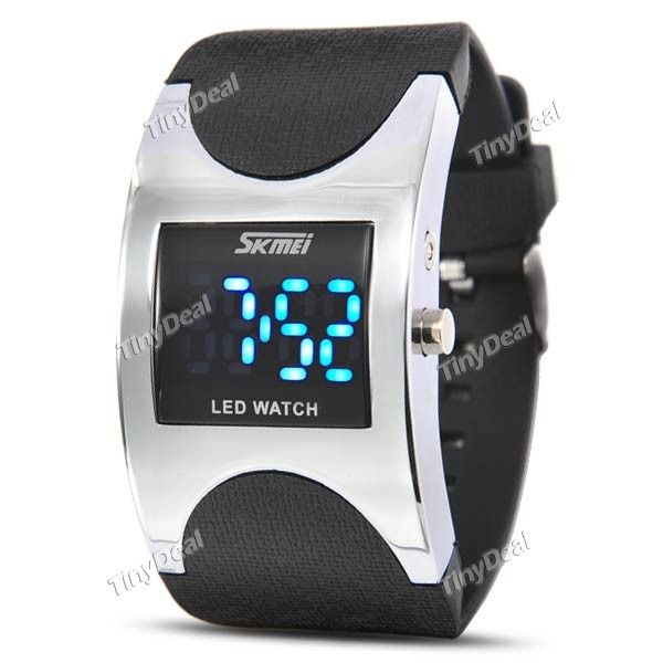 http://www.tinydeal.com/it/skmei-3atm-waterproof-led-sport-electronic-watch-p-115853.html  (SKMEI) 3ATM Water Resistant LED Digital Display Silicone Band Sport Electronic Wrist Watch