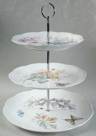 your favorite brands happy day just her cup of tea 3 tiered serving tray