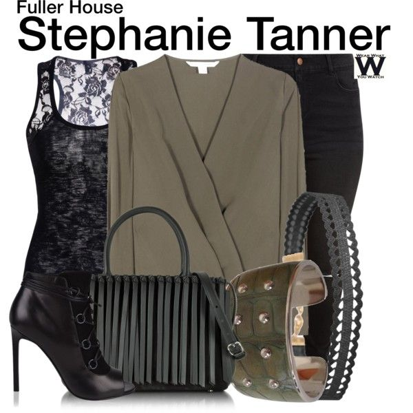 Inspired by Jodie Sweetin as Stephanie Tanner on Fuller House.