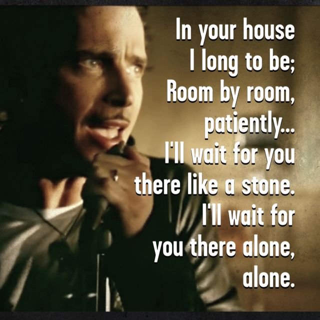 Like a Stone by Audioslave