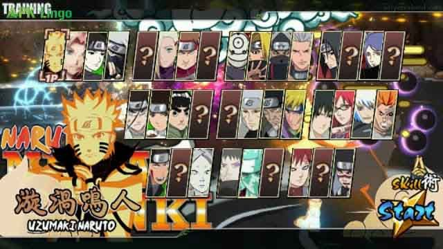 Download Naruto Ninja Senki MOD APK Unlimited Money & Full Character