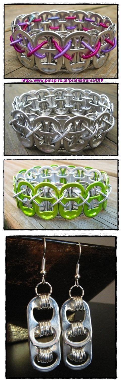 Recycled Pop Tab Bracelet